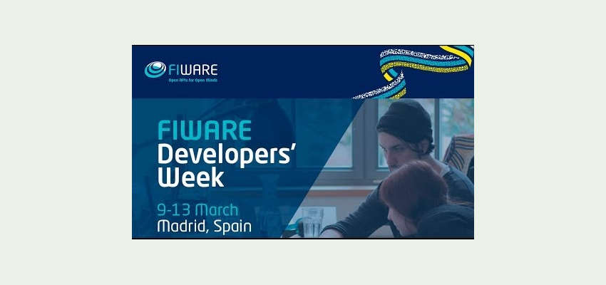 Whitewall Energy at #FIWARE Developers' Week Madrid