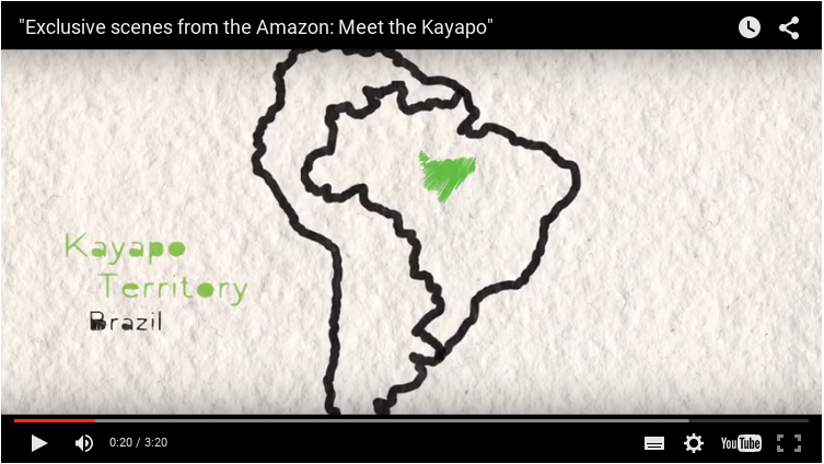[Video] Meet the Kayapo