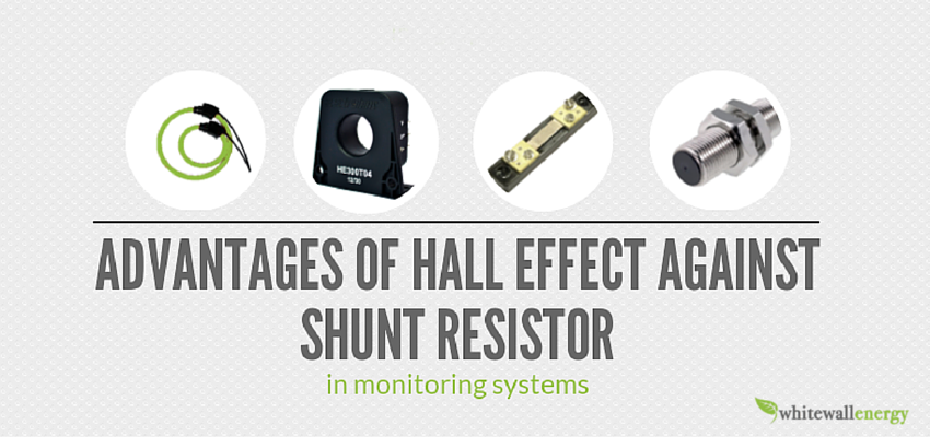 [Post] Adventages of hall effect against shunt resistor in monitoring systems