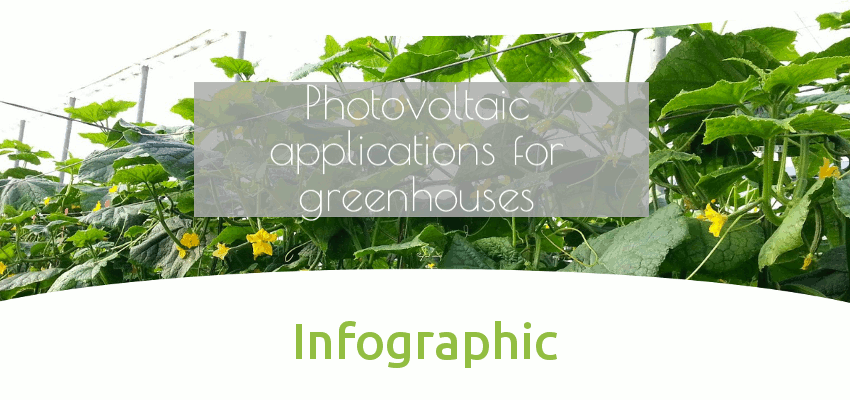 [Infographic] Photovoltaic applications for greenhouses